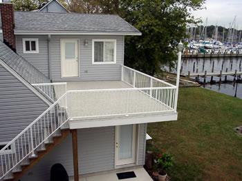Duradek roof top decks in Delaware, PA & NJ